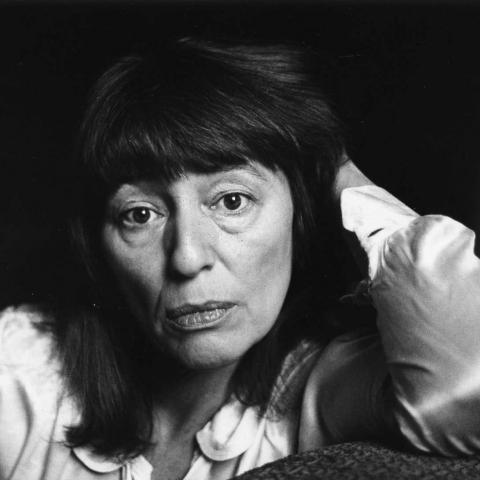 Beryl Bainbridge (c) Jane Brown 1990