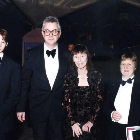 Beryl Bainbridge and guests (c) Susan Greenhill 1998