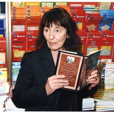 Beryl Bainbridge and her novel Master George (c) Susan Greenhill 1998