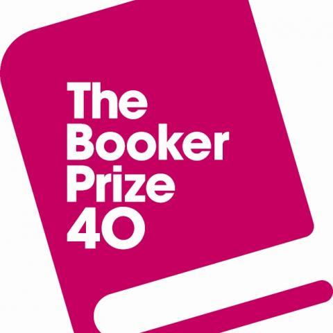 The Booker Prize 40th anniversary logo
